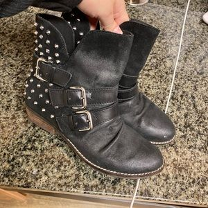 Dolce Vita Biker studded boots